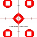Scope Target red Med E