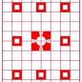 Sm BR SQ on red Grid